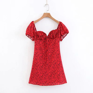 """SCARLET POPPIES"" DRESS"