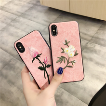 "Load image into Gallery viewer, ""PASTEL FLORAL"" IPHONE CASE (2 DESIGNS)"