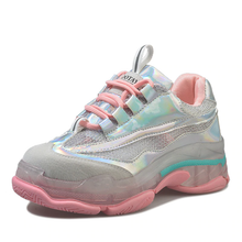 "Load image into Gallery viewer, ""CYBER CANDY"" SNEAKERS (2 COLORS)"