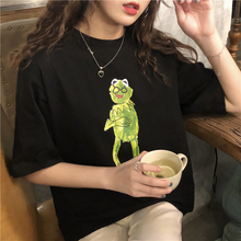 "Load image into Gallery viewer, ""INTELLECTUAL KERMIT"" SHIRT (2 COLORS)"