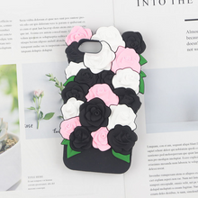 "Load image into Gallery viewer, ""ROSES OF LOVE"" IPHONE CASE (3 COLORS)"
