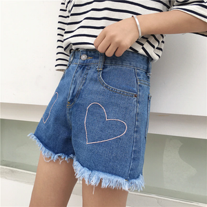 HEART SHORTS (2 COLORS)
