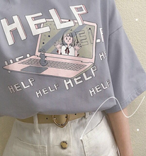 "Load image into Gallery viewer, ""HELP!"" SHIRT (3 COLORS)"