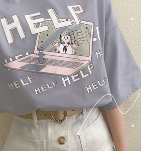 """HELP!"" SHIRT (3 COLORS)"