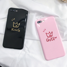 "Load image into Gallery viewer, ""KING / QUEEN"" IPHONE CASE (2 COLORS)"