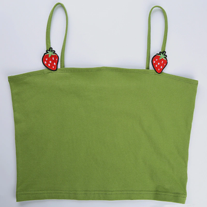 """STRAWBERRY FOREST"" CROP TOP"