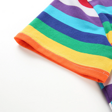 "Load image into Gallery viewer, ""RAINBOW SUMMER"" CROP TOP"