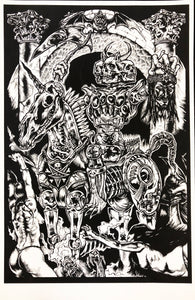 Death Is The Only Immortal Silkscreened Print