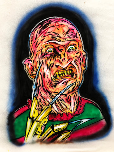 Freddy Hand Painted Canvas