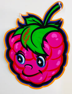 Raspberry Boy Sticker