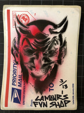 Load image into Gallery viewer, Hand Stencil 1st Ever LAmours Fun Shop Slappies edt. 13