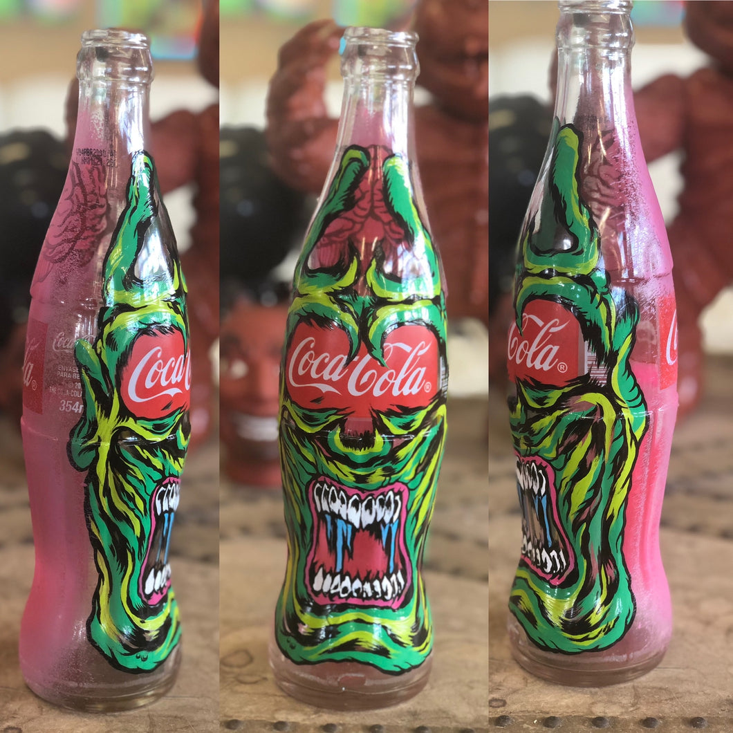 Coca Cola Hand Painted Bottle Collection Doug