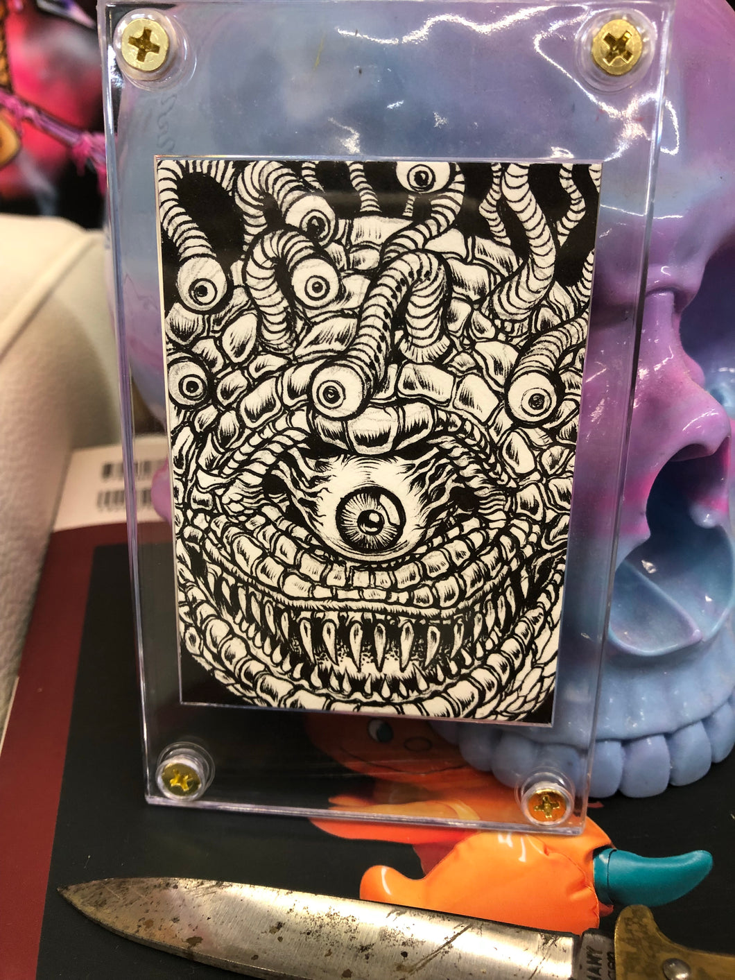 Original Beholder Sketch Card by LAmour Supreme