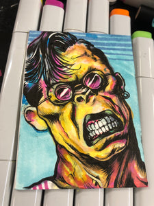 "RANXEROX Sketch Card 2.3""x3.5"