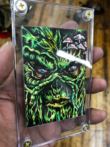 Swamp Thing Original Sketch Card 2