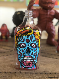 THEY LIVE!  Hand Painted Bottle Collection
