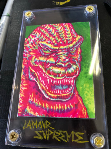 Godzilla King Of All Monsters Sketchcard