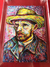 Load image into Gallery viewer, Vincent Van Gogh Sketch Card