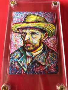 Vincent Van Gogh Sketch Card
