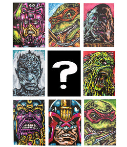 Mystery Monday Sketch Cards