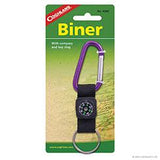 Biner with Compass and Key Ring