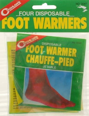 Disposable Foot Warmers - pkg of 4