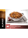 AlpineAire Rice & Bean Bowl with Beef