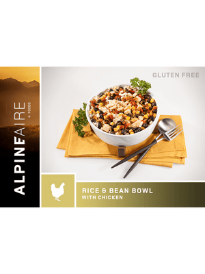 AlpineAire Rice & Bean Bowl with Chicken