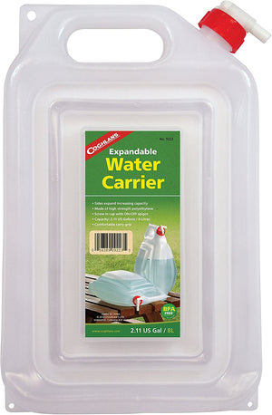 Expandable Water Carrier - 2 Gallon