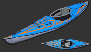 ADVANCED ELEMENTS Advanced Elements - Advanced Frame Expedition Elite Inflatable Kayak kayak