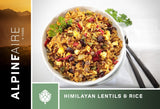 Alpenaire Alpineaire Himalayan Lentils and Rice camping