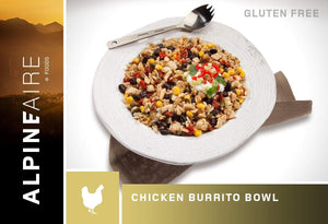 AlpineAire Rice Burrito Bowl - Chicken - Skyview Outdoors