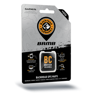 BRMB British Colombia Backroad GPS Maps