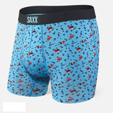 SAXX Ultra Boxer Brief- Blue Action updated