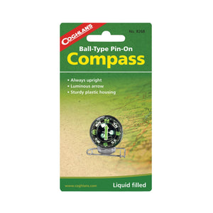 Coghlans Coghlans Ball-Type Pin-On Compass camping