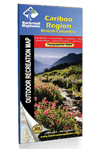 Cariboo Region BC Waterproof Map