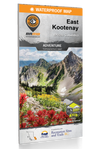 BRMB East Kootenay BC Waterproof Map