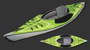 Advanced Elements - ADVANCEDFRAME® ULTRALITE KAYAK: AE3022-G