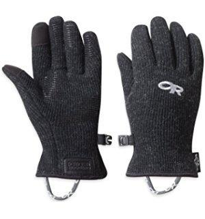 OR Outdoor Research Flurry Sensor Gloves Men's Black clothing