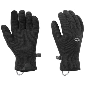OR Outdoor Research Flurry Sensor Gloves Women's Black clothing