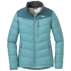 Outdoor Research Outdoor Research Women's Transcendent Down Jacket 2018 X-Small / Seaglass Teal clothing