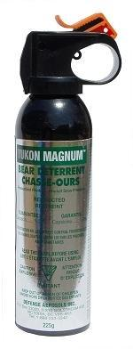 pepper spray Yukon Magnum Bear Deterrent camping