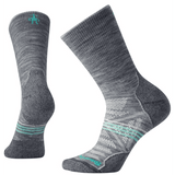 Smartwool Smartwool Women's PhD Outdoor light cushion crew sock medium / light gray clothing