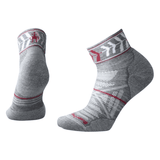 Smartwool Smartwool Women's PhD Outdoor light cushion mini sock Small / medium gray clothing