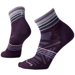 Smartwool Smartwool Women's PhD RUN ultra light cushion mini sock small / bordeaux clothing