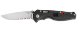 SOG SOG Flash Tin 1/2 Serr Knife camping