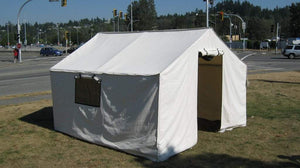 West Coast Canvas Canvas Wall Tent 12'X14'X5' wall tents and hunting