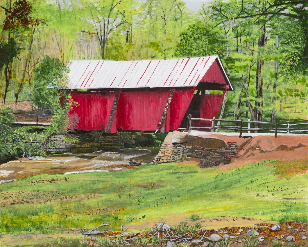 Campbell's Covered Bridge - print