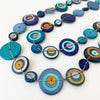 CARACOL // 1001-BLU NECKLACE