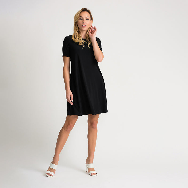 JOSEPH RIBKOFF // 202130 SHIRT DRESS BLACK
